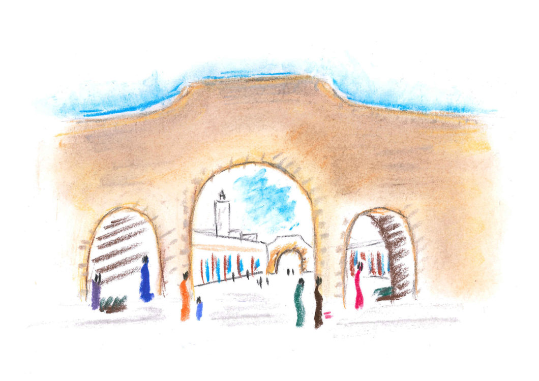 Porta souk Essaouira