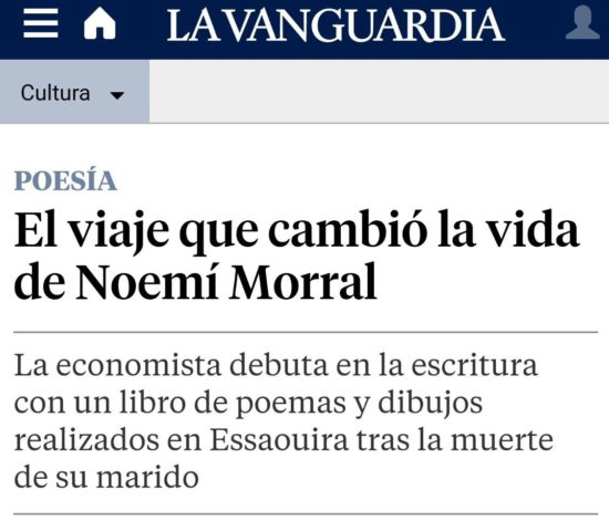 Article de la secció de cultura de la Vanguardia digital