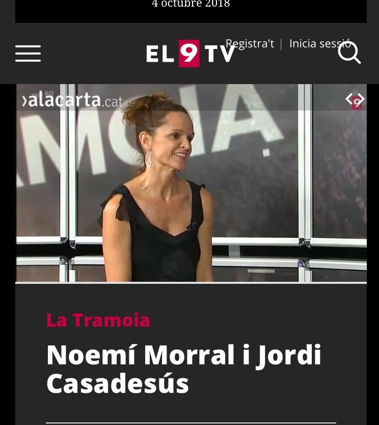 Entrevista 9TV